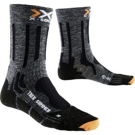 X-Bionic Trekking Summer Skarpetki Mężczyźni szary/czarny